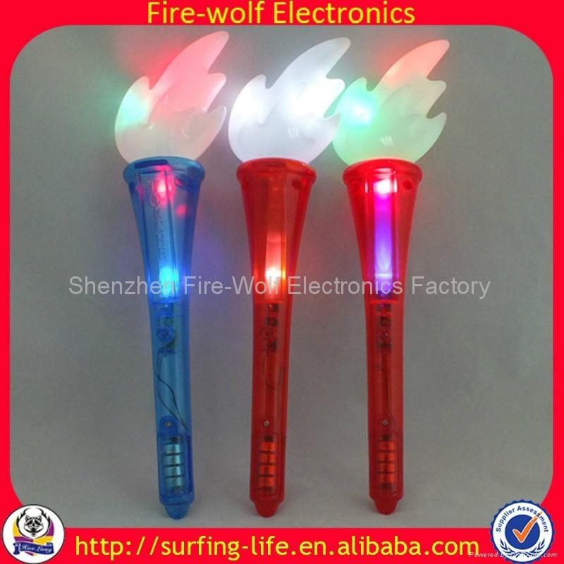 Party Gift led flashing stick torch , led foam glow stick China Manufacturer  5