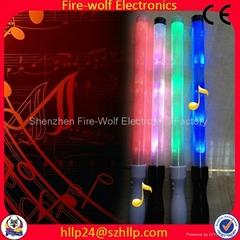 Gift for led foam glow stick led flashing light stick China Manufacturer