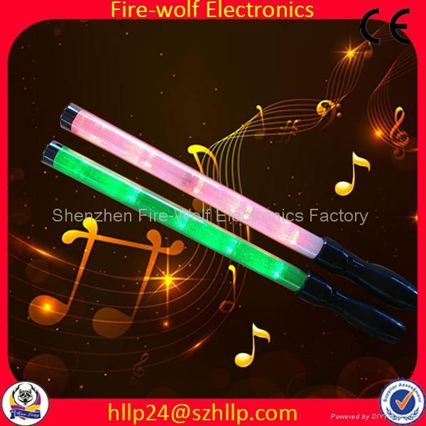 Gift for led foam glow stick led flashing light stick China Manufacturer   2