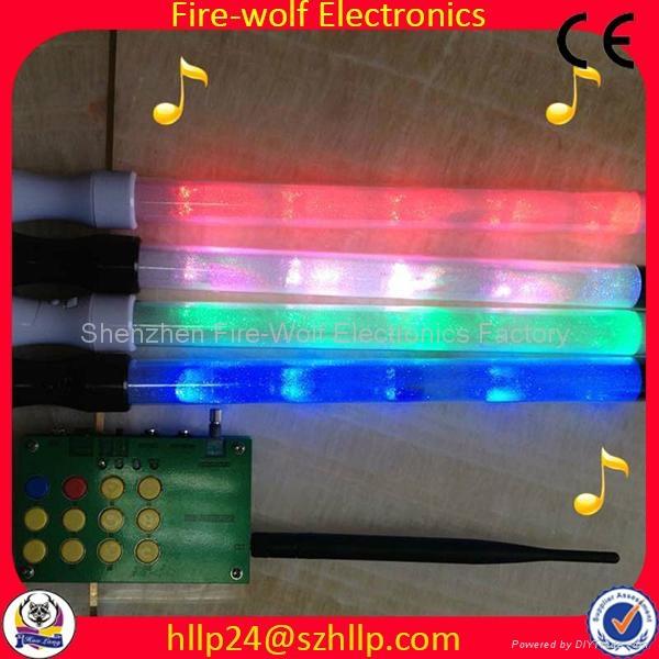 Gift for led foam glow stick led flashing light stick China Manufacturer   5