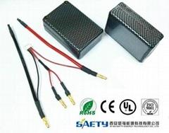 SCM3300-2S2P(804358SH30 2S3P 5000mAh) Saddle Pack lipo battery