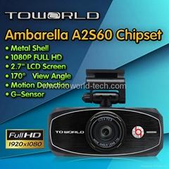 "2.7"" lcd hd 1080p car camera black box dvr"
