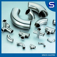 stainless steel pipe clamp fittings ss304/316
