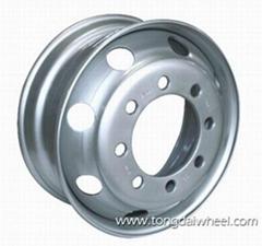 tubeless steel wheel 22.5x9.00