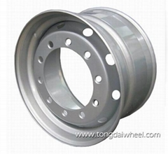 truck wheel steel China manufacturers 22.5x11.75
