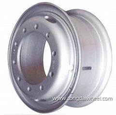 Heavy duty truck wheel  8.50v-20