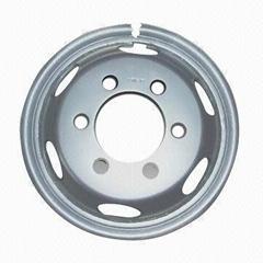 5.50F-16 steel wheel rim and disk