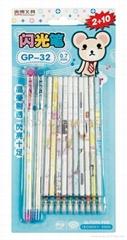 Plastic Glitter Milky Co