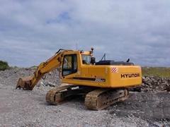 二手現代250LC-7挖掘機