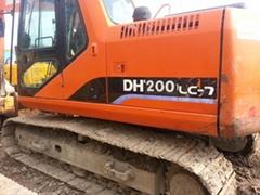 二手大宇DH150LC-7履帶式挖掘機