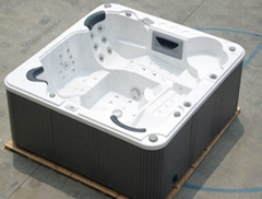 Luxury 5 person LCD TV spa  bathtub, jacuzzi, hot tub waterfall SR808