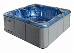 Best seller US balboa hot tub system hot sale 5 person spa SR816 jacuzzi spa