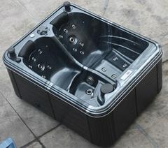 Sunrans CE low price 2 person sex massage balboa hot tubs SR842 mini hot tub