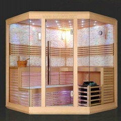 2014 Fashionable sauna room SR1D001 dry sauna for 3 to 4 person