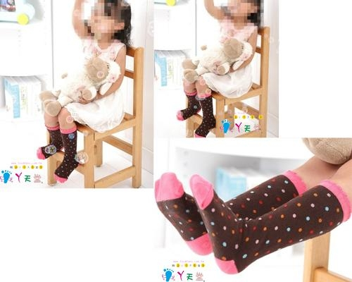 MIT純棉儿童膝下襪 2
