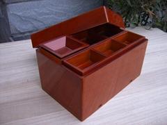 Wooden finishing box