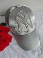 Ms. NY diamond baseball cap