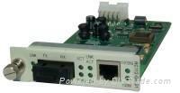 RC316-FE-S1 單纖光纖收發器