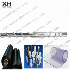 XPS insulation board extruder screw barrel