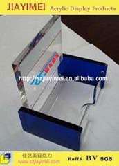 亞克力名片盒工藝品名片座壓克力名片盒