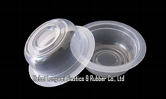 clear disposable mini jelly pudding cup