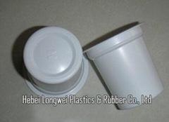 140ml(5oz) printed disposable plastic yoghurt cup