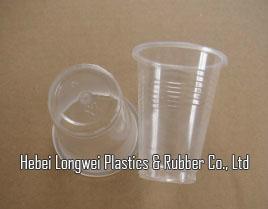 transparent 6oz(180ml) thin disposable PP plastic cup   1
