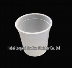 200ml 7 oz disposable plastic yogurt cup with lid
