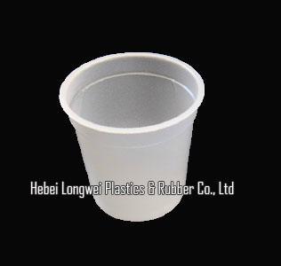 200ml 7 oz disposable plastic yogurt cup with lid   1