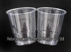 7 oz PP transparent disposable plastic beverage cup