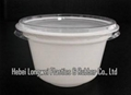 230ml white color disposable plastic ice
