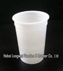 300ml 10 oz disposable plastic yogurt cup with lid