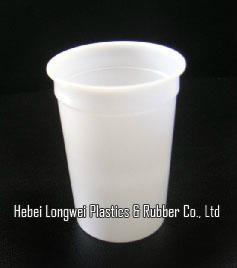 300ml 10 oz disposable plastic yogurt cup with lid   1