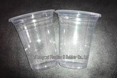 12 oz PP disposable plastic juice cup