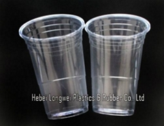 14 oz PS red disposable party cups for hot drinks