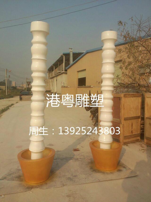 酒店裝飾造型柱子羅馬柱 4