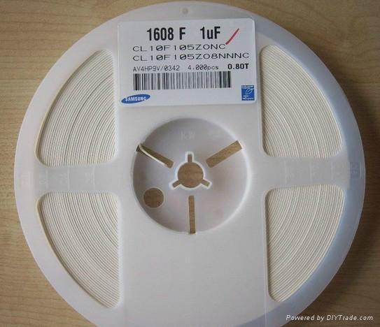 三星贴片陶瓷电容 1