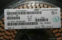 美國AVX貼片鉭電容