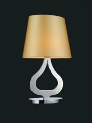 LED臺燈歐式現代水晶客房臺燈