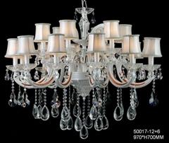 大廳水晶蠟燭吊燈