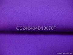 染色彈力府綢棉布40S40S13070紫色