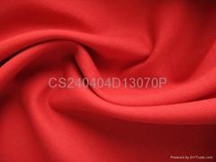 大紅色彈力棉布40S40S13070