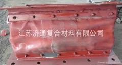 供應非金屬膨脹節蒙皮(耐腐蝕、耐高溫、消聲減震)
