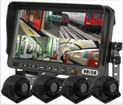 Quad Monitor Camera Systems (7inch )