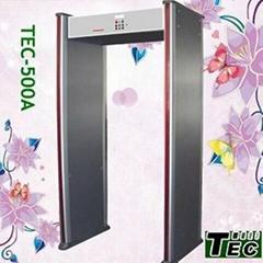 Professional walk through metal detector TEC-500A
