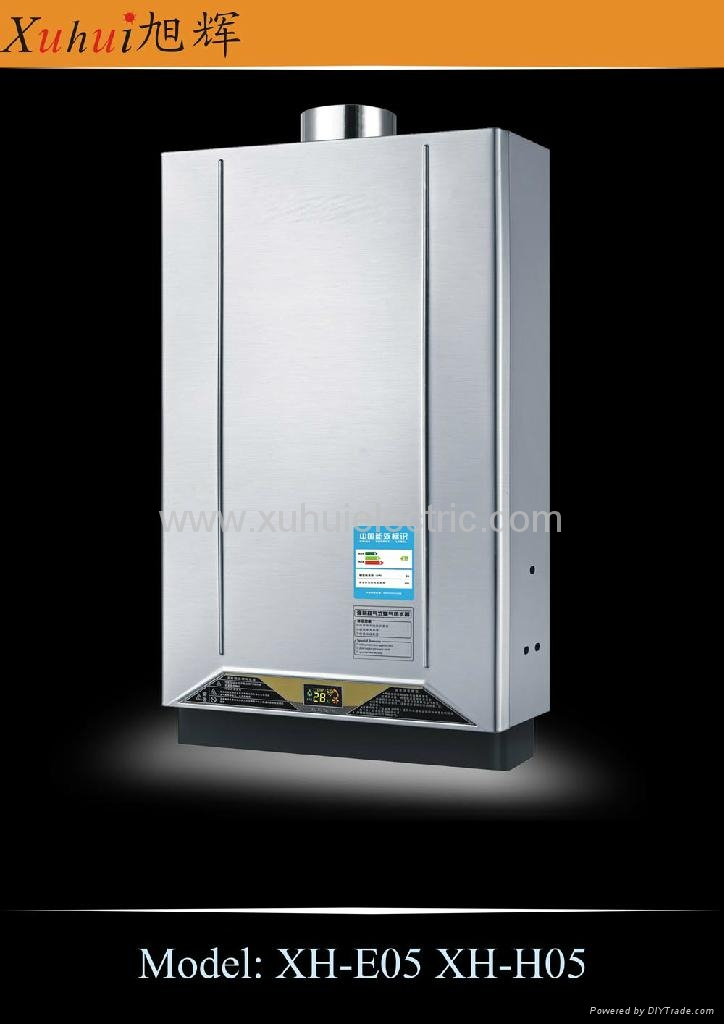 8L constant temp. tankless gas gayser 2