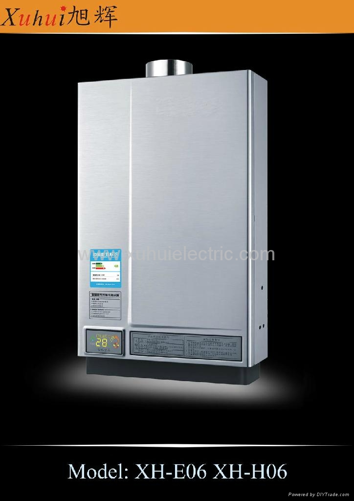 8L constant temp. tankless gas gayser 3