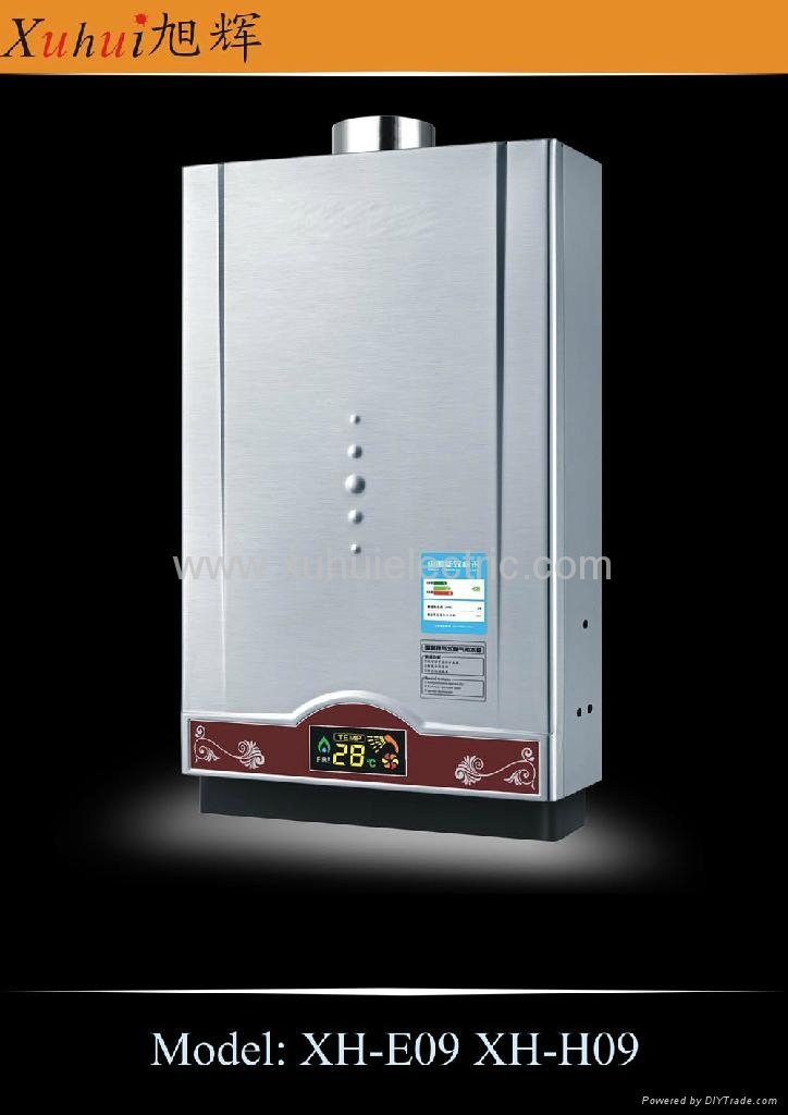 8L constant temp. tankless gas gayser 5