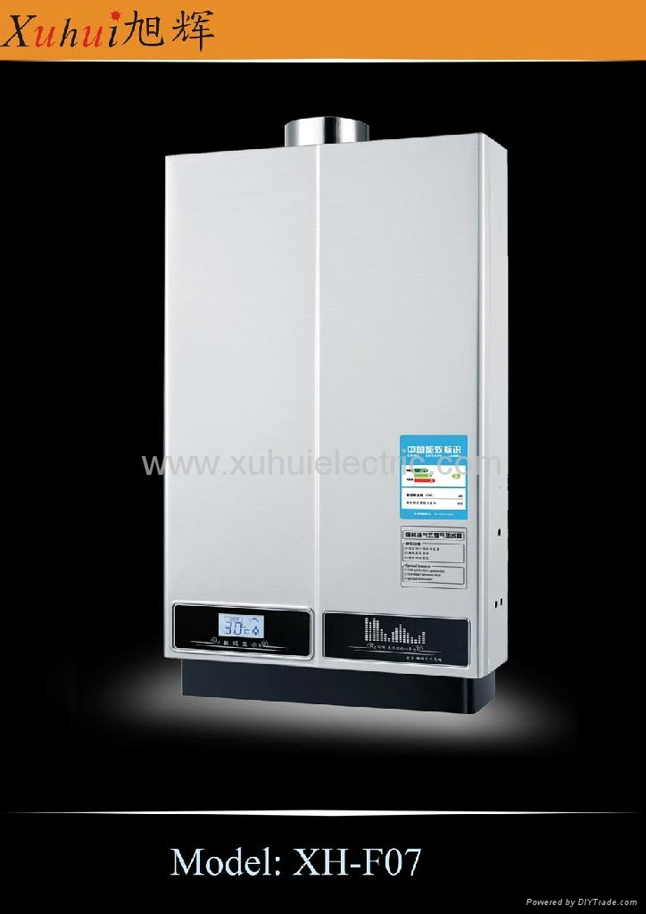 10L Constant temp. gas water heater shower 4