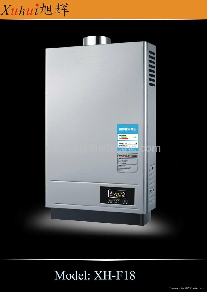 12L constant temp. tankless gas hot water heater 3